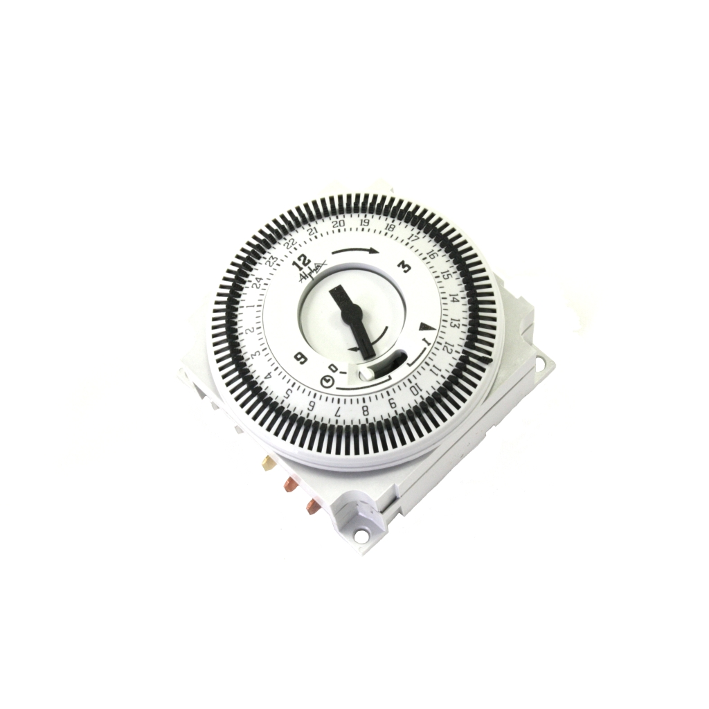timeclock 24-hour mechanical plug-in type