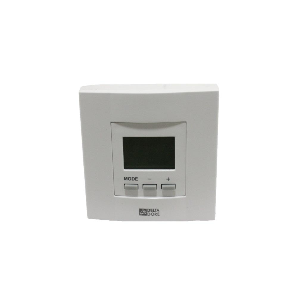 delta dore tybox 21 hard wired digital room thermostat backlit screen gas boiler parts. Black Bedroom Furniture Sets. Home Design Ideas