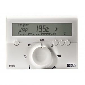 6050543 - Delta-Dore-Tybox-610-Programmable-Battery-Powered-Thermostat