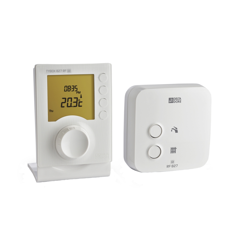 delta dore tybox 827wrf wireless two channel programmer. Black Bedroom Furniture Sets. Home Design Ideas
