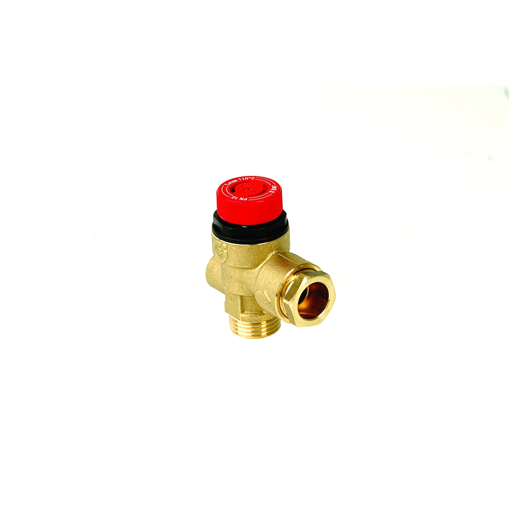 Safety Relief Valve 1  2inch M I  To 15mm   Gauge Thread