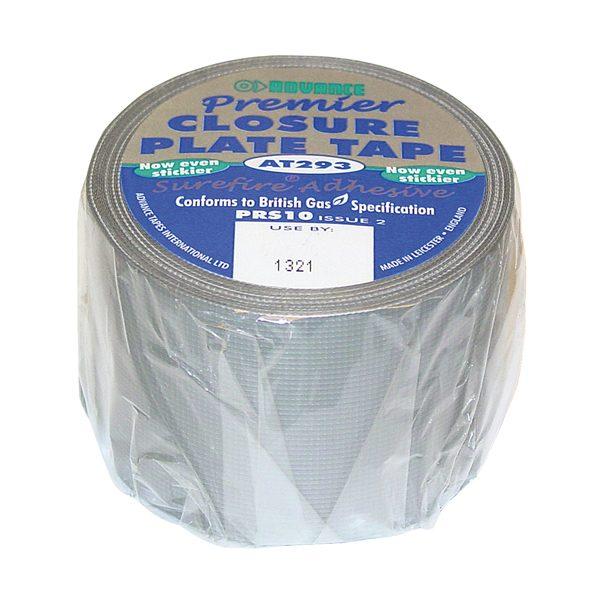REGJ10 - Closure-Plate-Tape-PRS10-50mm-x-10mtr
