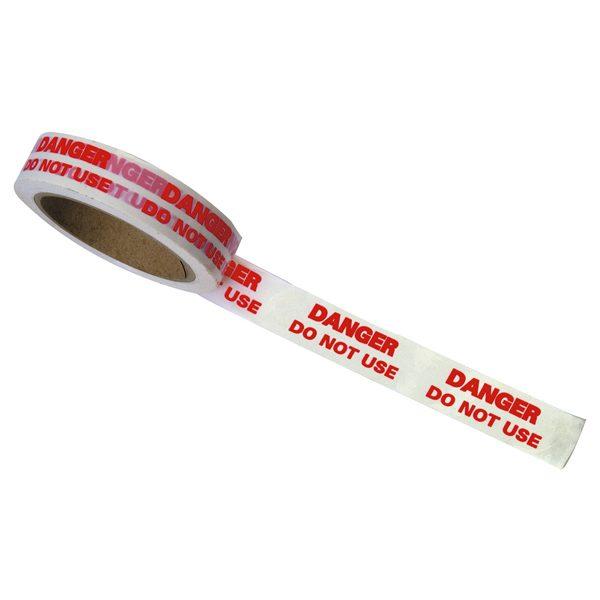 REGA15 - -DANGER-DO-NOT-USE-Identification-Tape-25mm-x-33mtr-A15